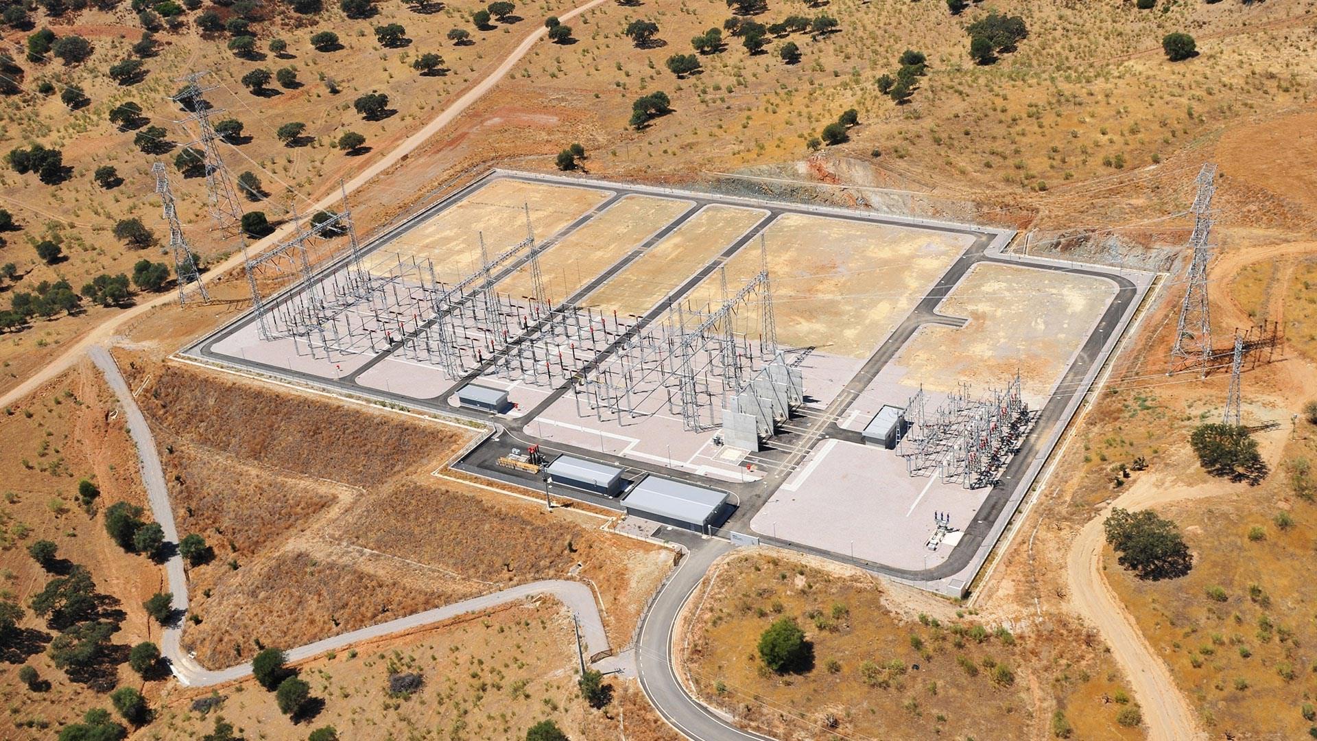 Alqueva 400/60k Electrical Substation