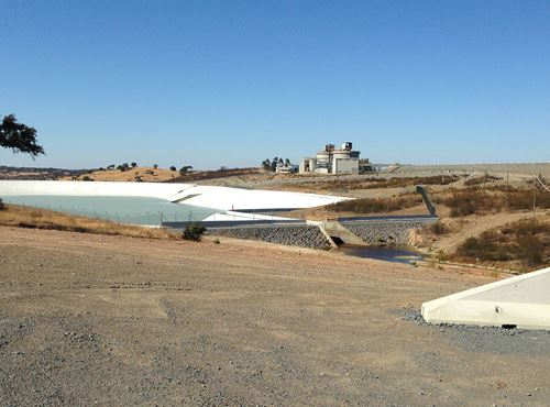 Lundin Mining - Faias Treatment Pond