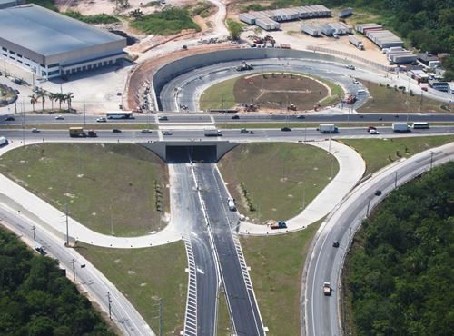 Several Viaducts in Brazil