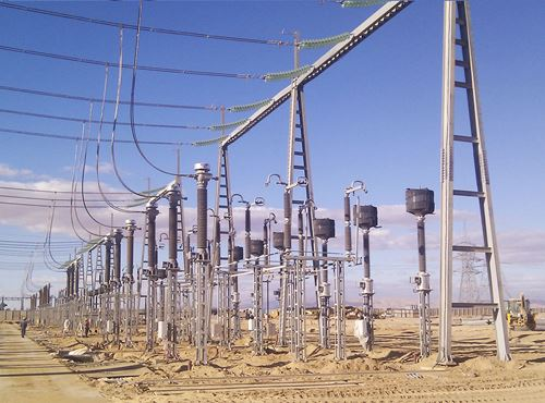 Biskra Electrical Substation