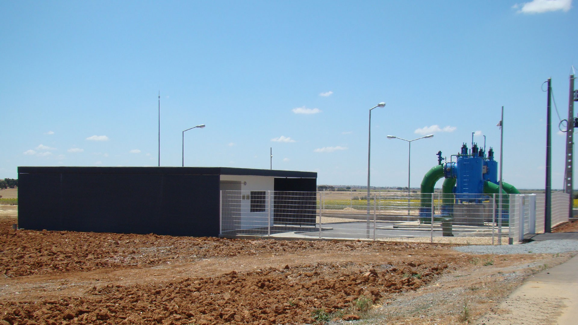 Detailed Design and Environmental Impact of the Cinco Reis Irrigation Blocks